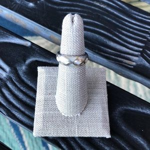 Jewelry - Silver Ring with Stone